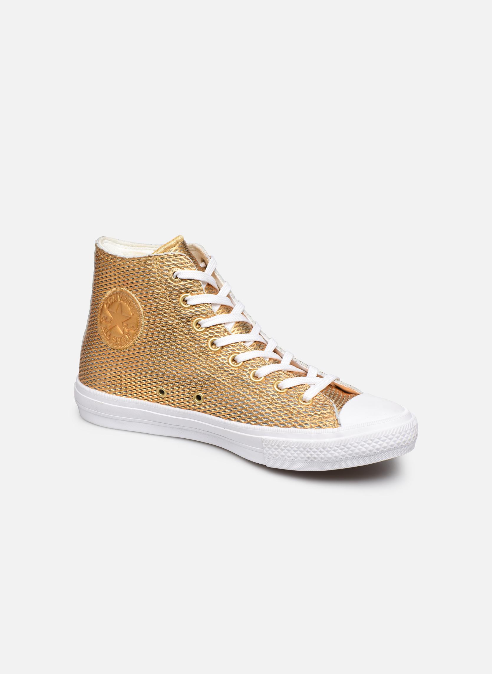 Sneakers Kvinder Chuck Taylor All Star II Hi Perf Metallic Leather