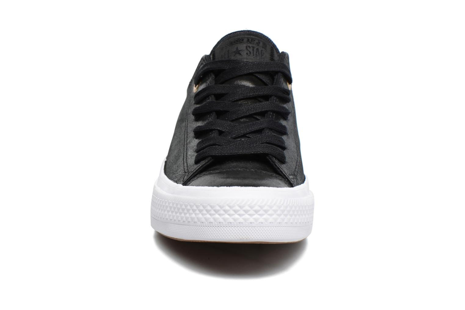 Chuck Taylor All Star II Ox Craft Leather Black/black/white