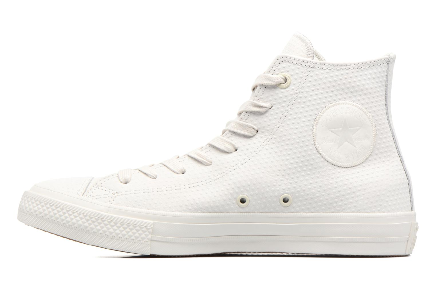 Baskets Converse Chuck Taylor All Star II Hi Lux Leather Beige vue face