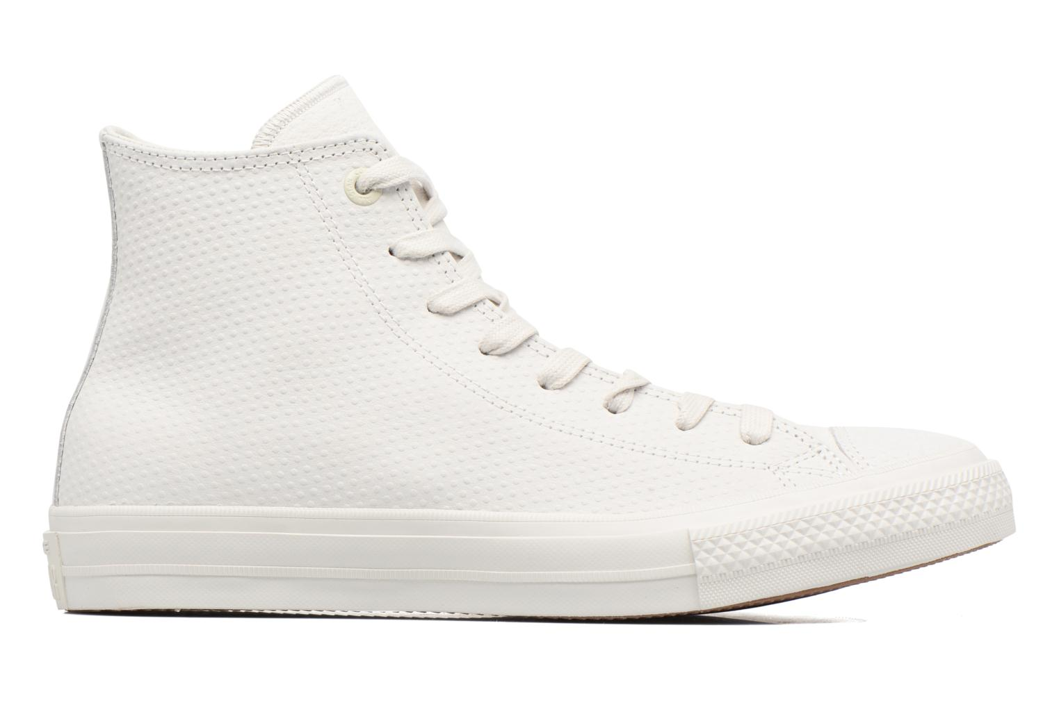 Baskets Converse Chuck Taylor All Star II Hi Lux Leather Beige vue derrière
