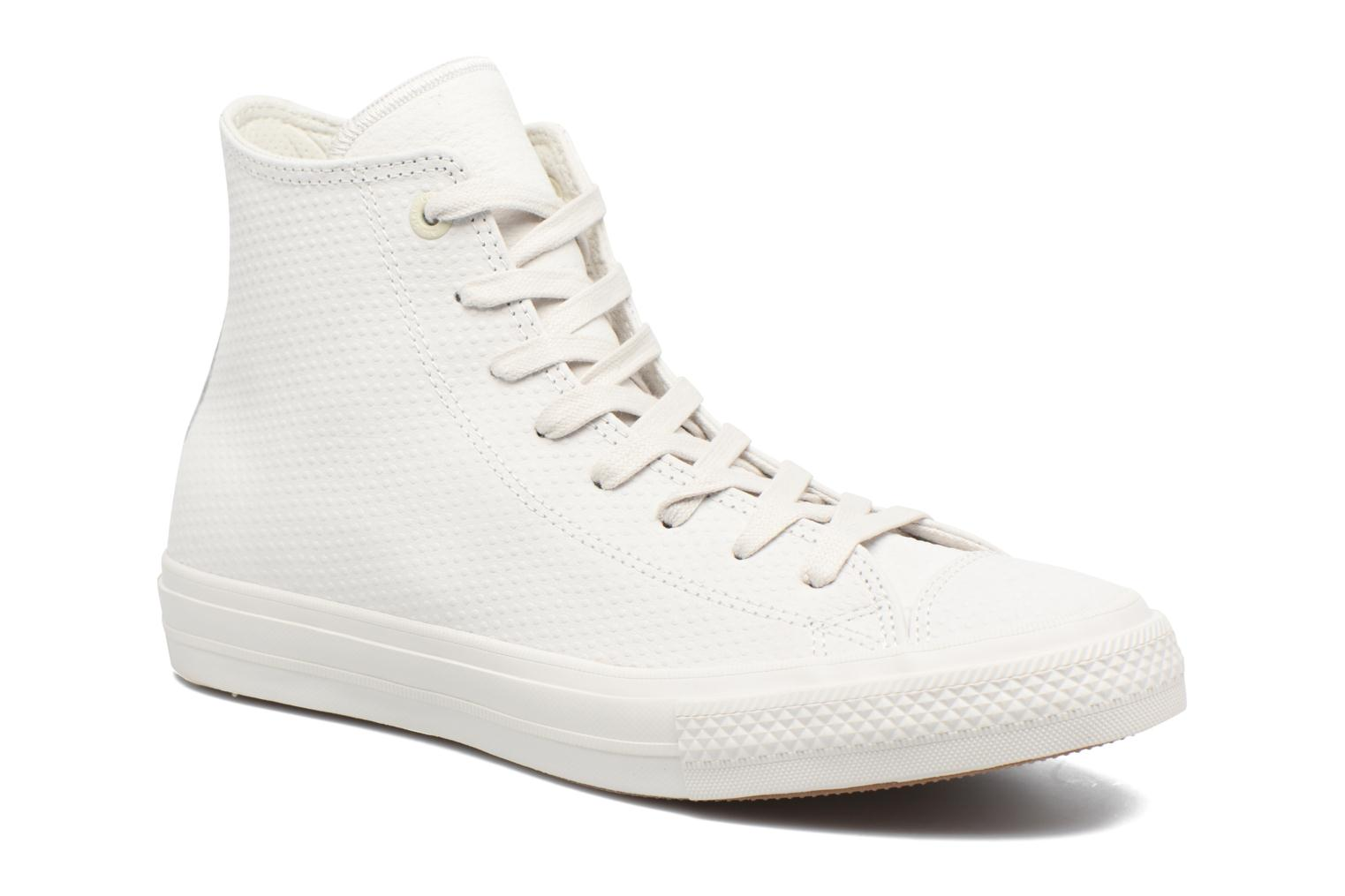 Baskets Converse Chuck Taylor All Star II Hi Lux Leather Beige vue détail/paire
