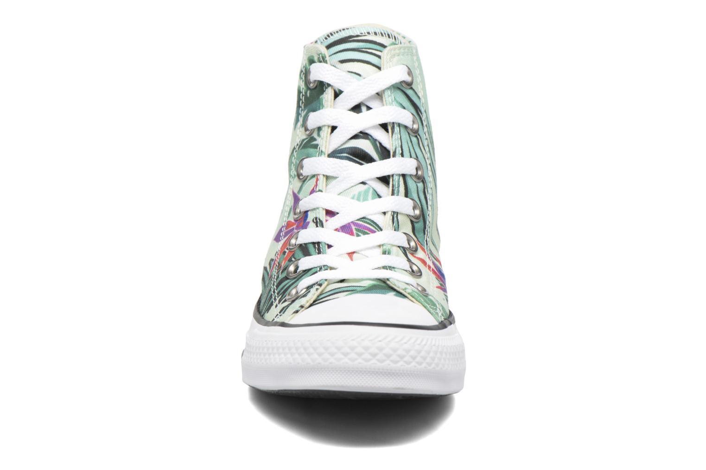 Baskets Converse Chuck Taylor All Star Hi Tropical Print W Multicolore vue portées chaussures