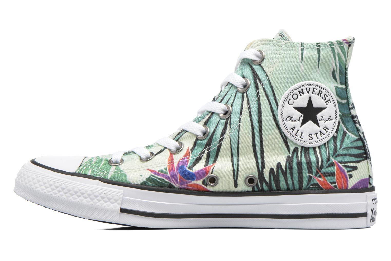 Baskets Converse Chuck Taylor All Star Hi Tropical Print W Multicolore vue face