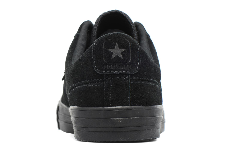 Baskets Converse Star Player Ox Suede Noir vue droite