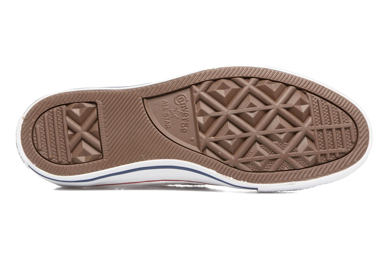 Sneakers Converse Chuck Taylor All Star Ox Italy Crochet Bianco immagine dall'alto