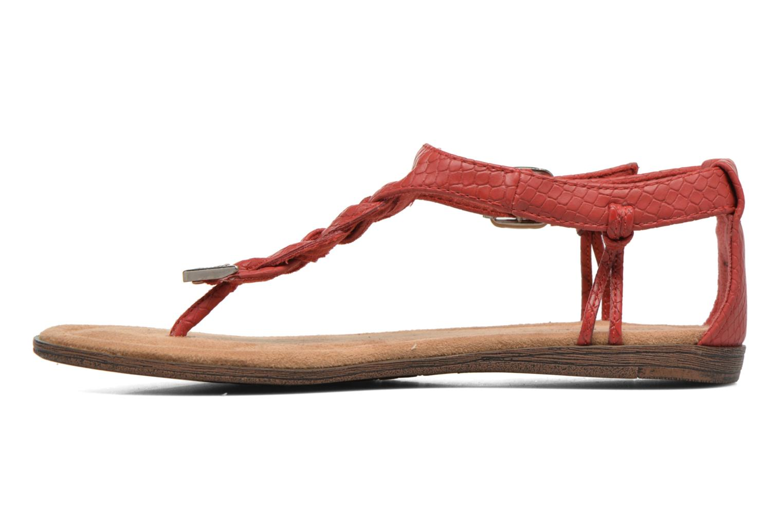 Sandales et nu-pieds Minnetonka Carnival Thong Orange vue face