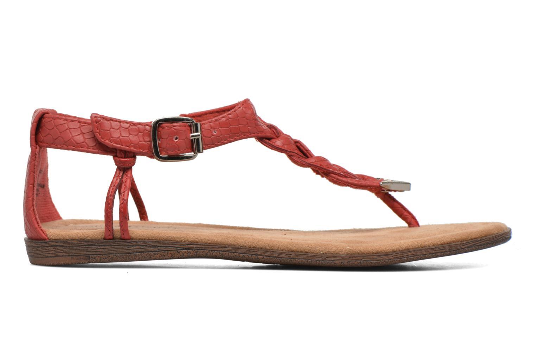 Sandales et nu-pieds Minnetonka Carnival Thong Orange vue derrière