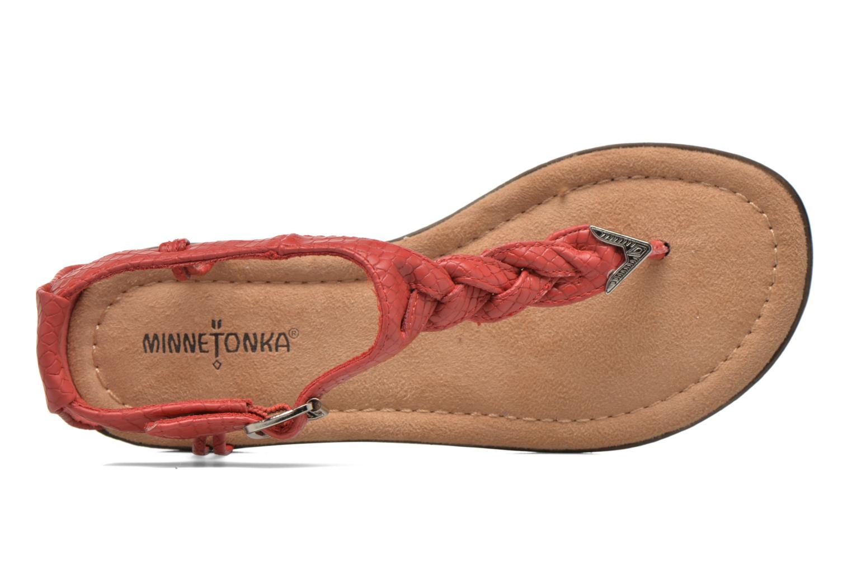 Sandales et nu-pieds Minnetonka Carnival Thong Orange vue gauche