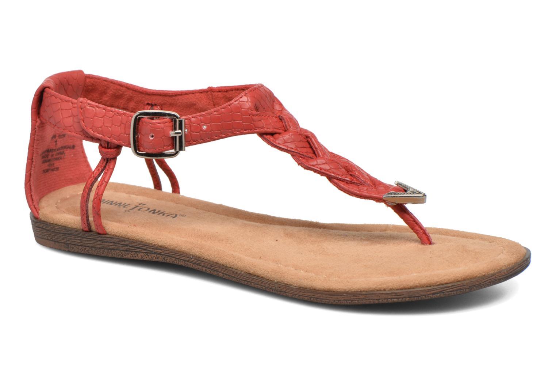 Sandales et nu-pieds Minnetonka Carnival Thong Orange vue détail/paire