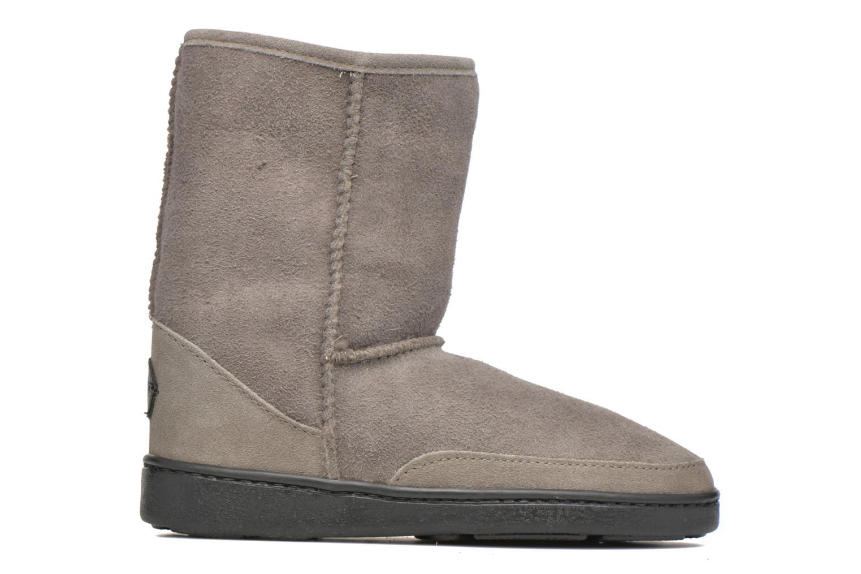 Bottines et boots Minnetonka Short Sheepskin Pug Boot W Gris vue derrière