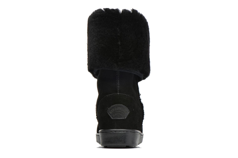 Bottines et boots Minnetonka Tall Sheepskin Pug Boot W Noir vue droite
