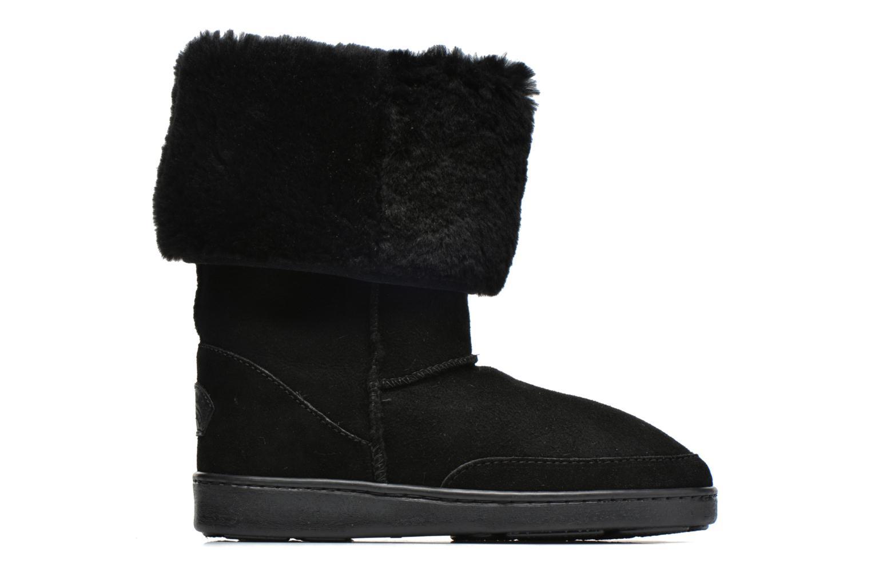 Bottines et boots Minnetonka Tall Sheepskin Pug Boot W Noir vue derrière