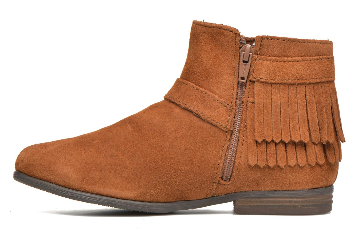 Ankle boots Minnetonka Rancho Boot Brown front view
