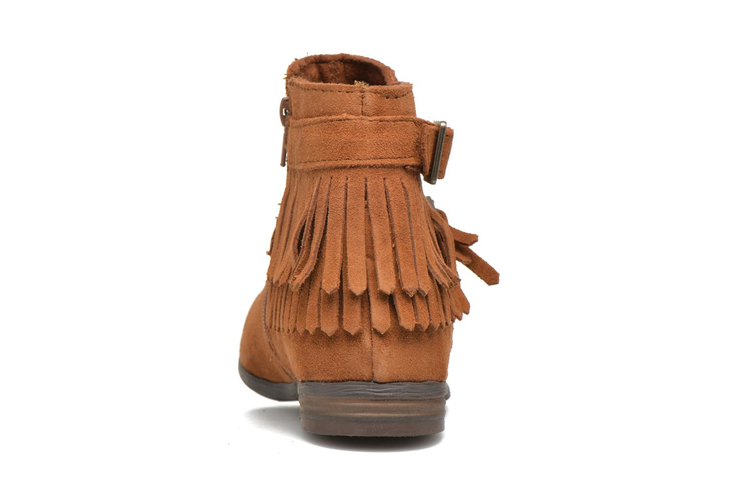 Ankle boots Minnetonka Rancho Boot Brown view from the right