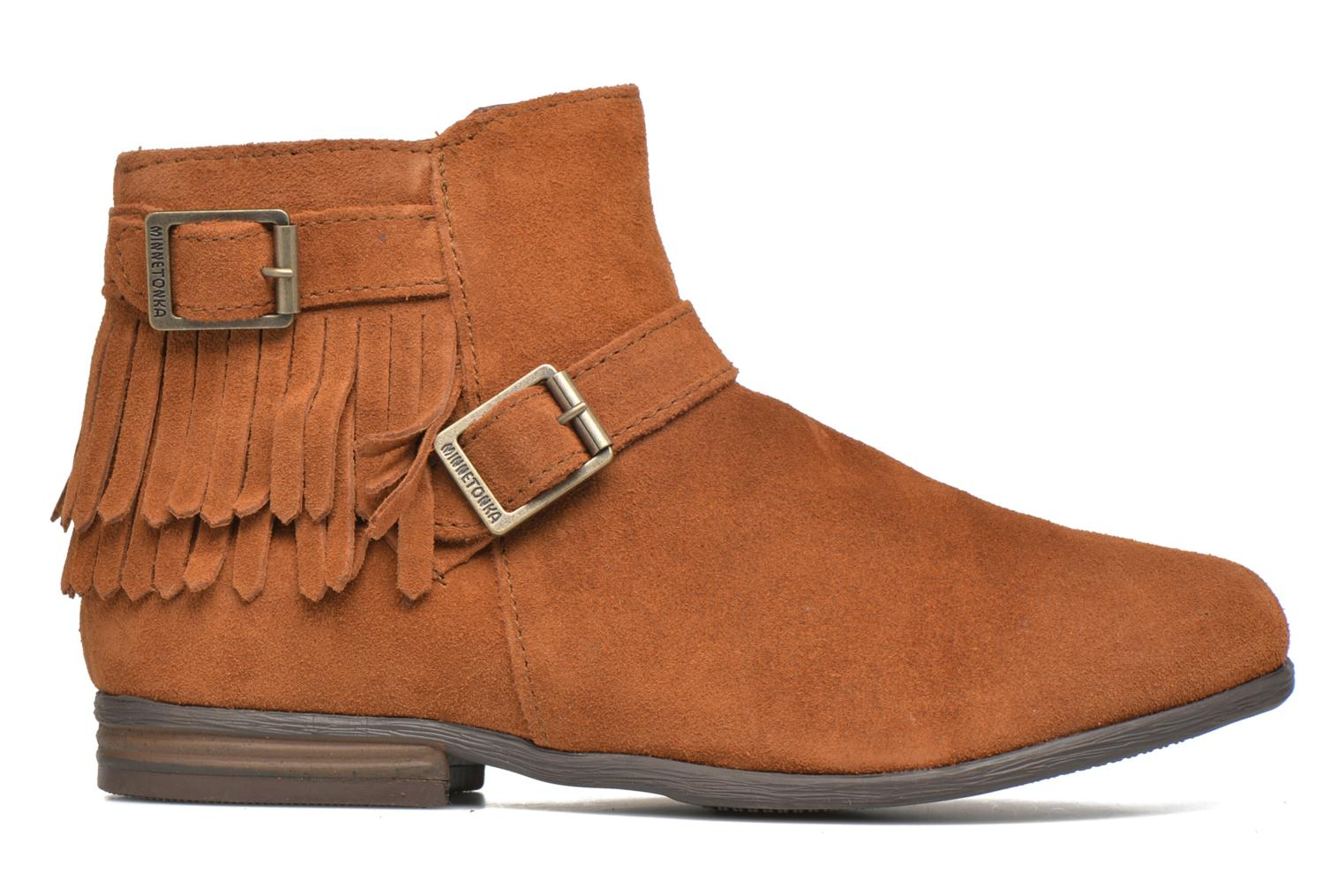 Ankle boots Minnetonka Rancho Boot Brown back view