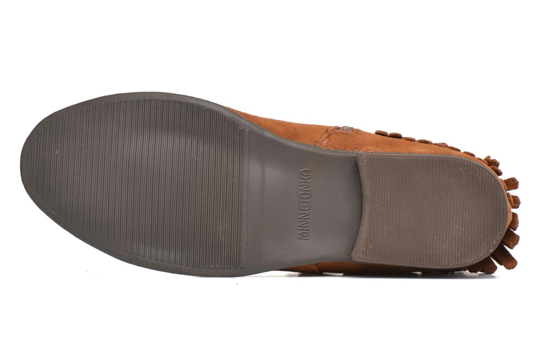 Bottines et boots Minnetonka Rancho Boot Marron vue haut