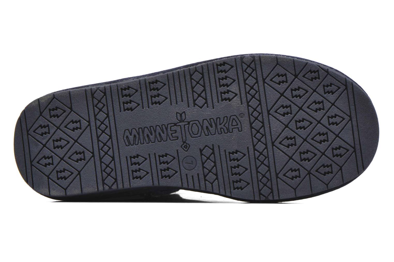 Stivaletti e tronchetti Minnetonka Olympia Boot Azzurro immagine dall'alto