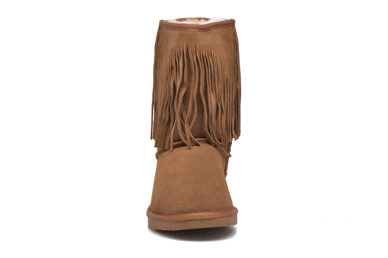 Bottines et boots Minnetonka Hyland Boot Or et bronze vue portées chaussures