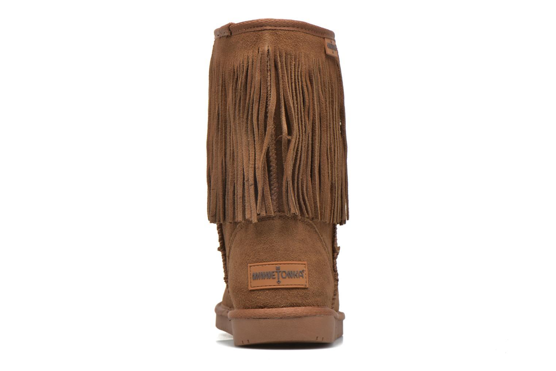 Bottines et boots Minnetonka Hyland Boot Or et bronze vue droite