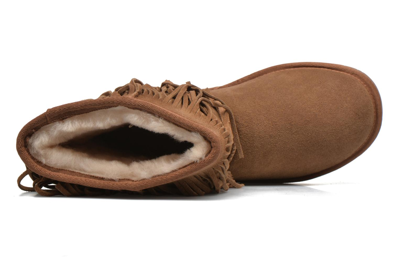 Bottines et boots Minnetonka Hyland Boot Or et bronze vue gauche