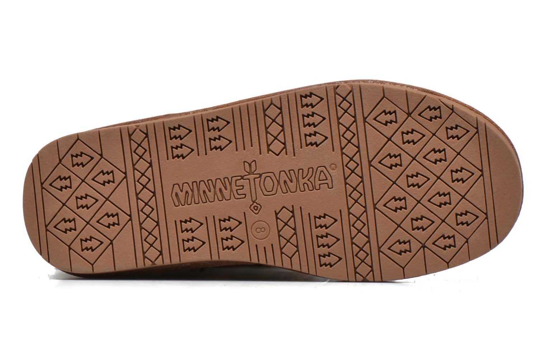 Bottines et boots Minnetonka Hyland Boot Or et bronze vue haut