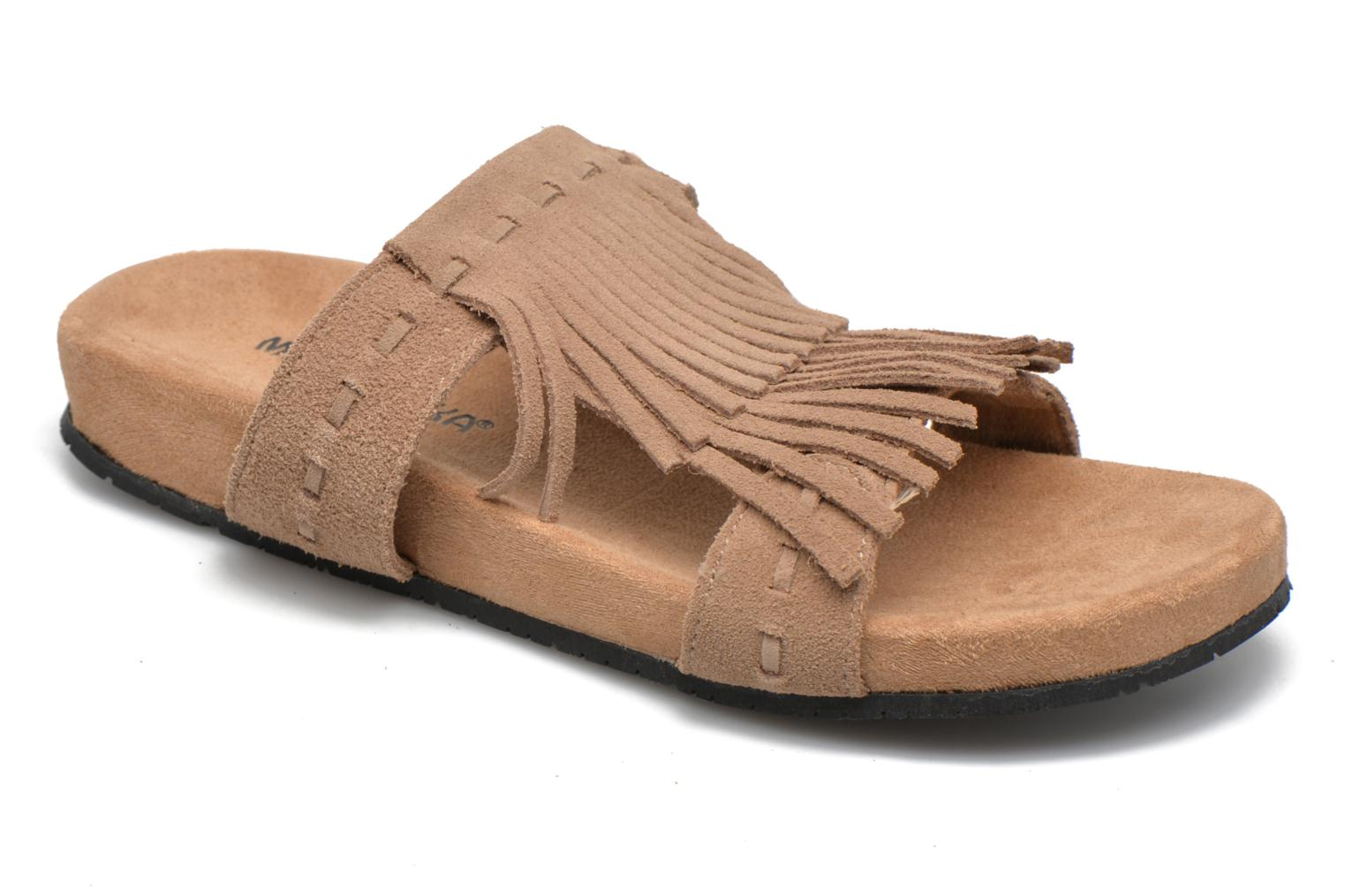 Daisy Sandal Taupe Suede