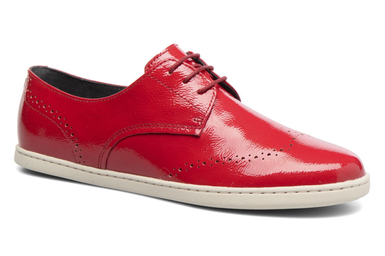 Zapatos promocionales Camper Uno K200410 (Rojo) - Zapatos con cordones   Gran descuento