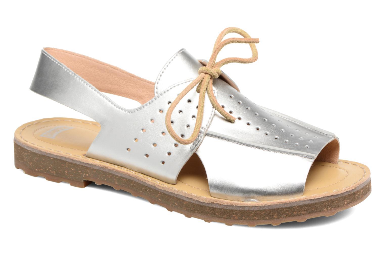 Sandales et nu-pieds Camper Tws K200381 Argent vue détail/paire