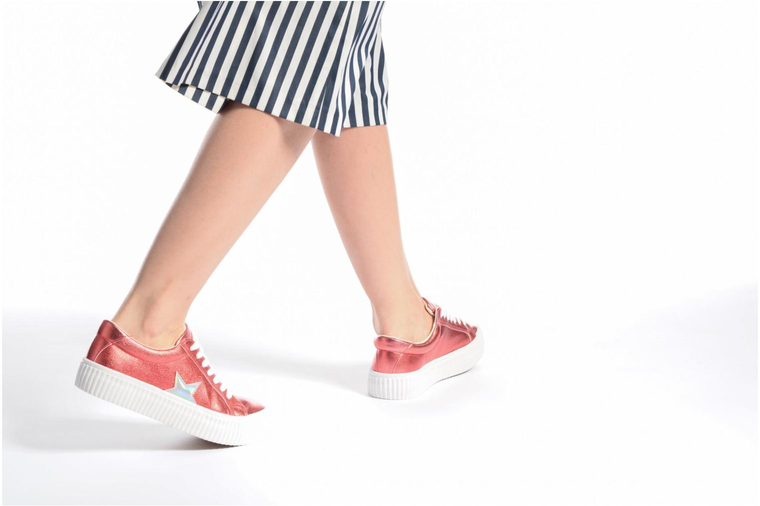 Sneakers Coolway Cherry Argento immagine dal basso
