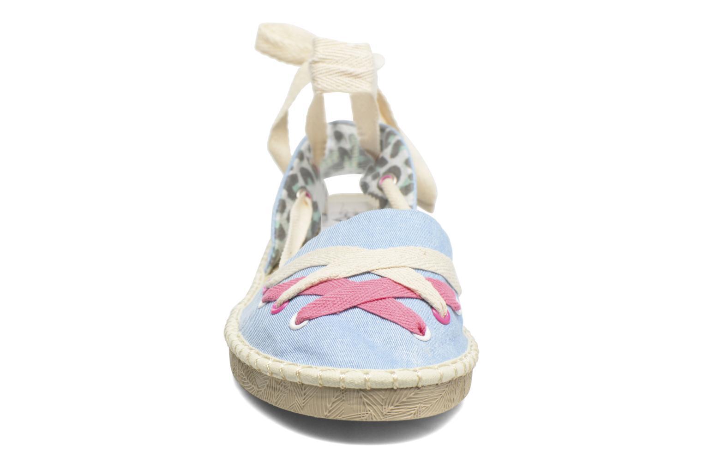 Espadrilles Coolway Guajira Bleu vue portées chaussures