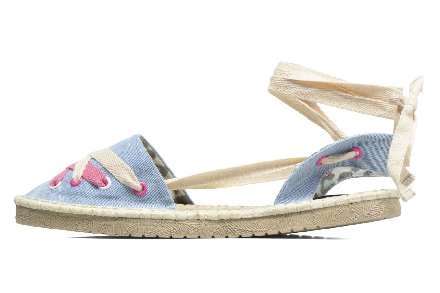 Espadrilles Coolway Guajira Blue front view