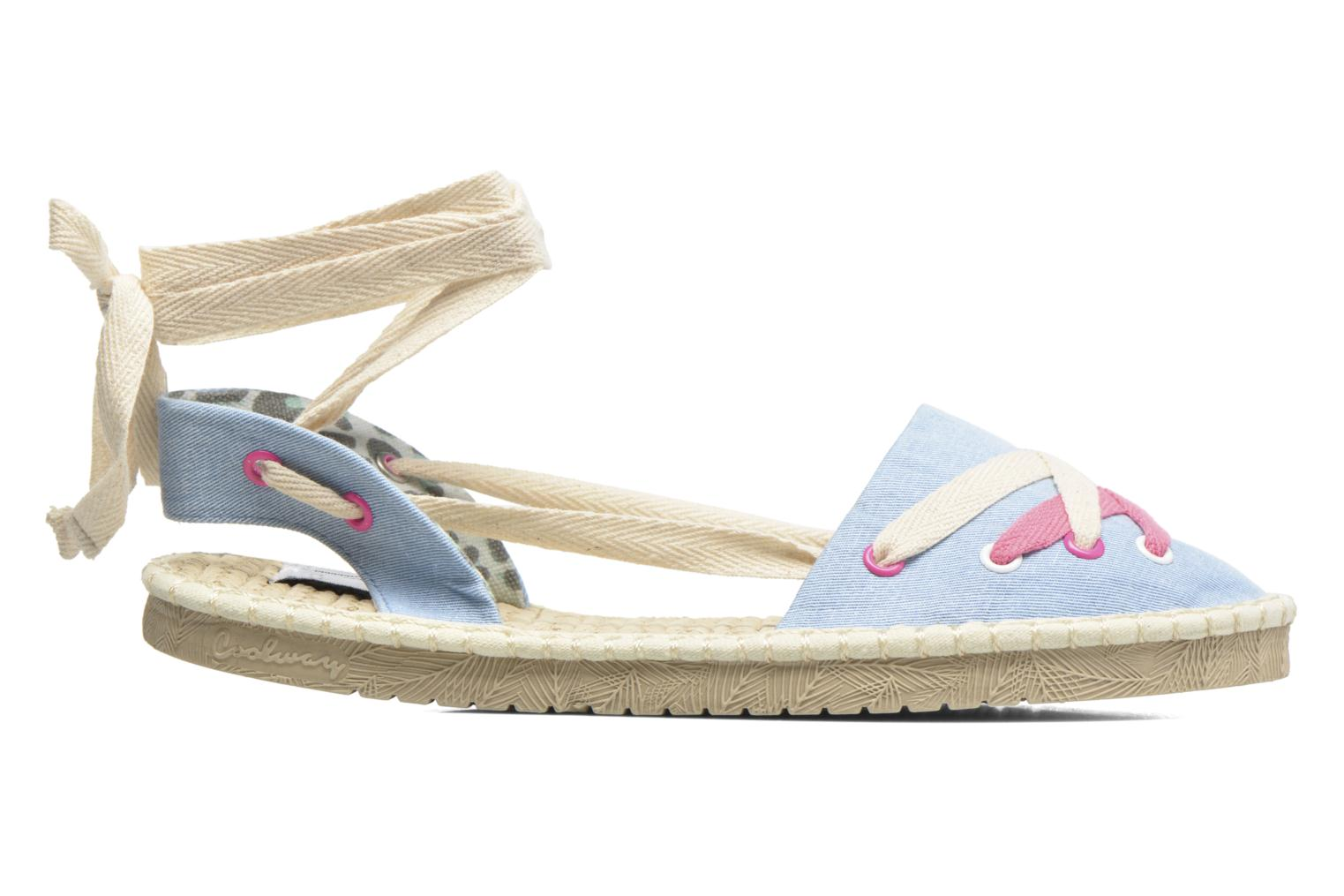 Espadrilles Coolway Guajira Blue back view