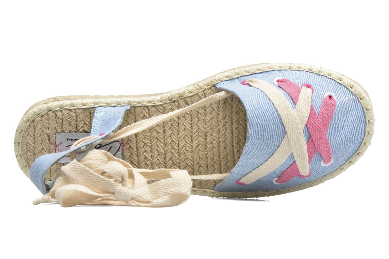 Espadrilles Coolway Guajira Bleu vue gauche