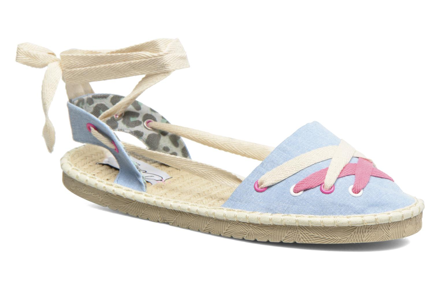 Espadrilles Coolway Guajira Blue detailed view/ Pair view