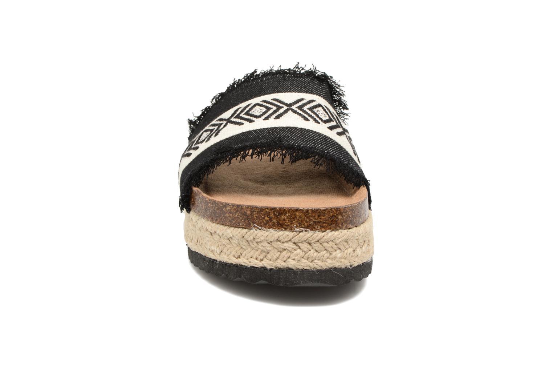 Mules et sabots Coolway Samba Noir vue portées chaussures