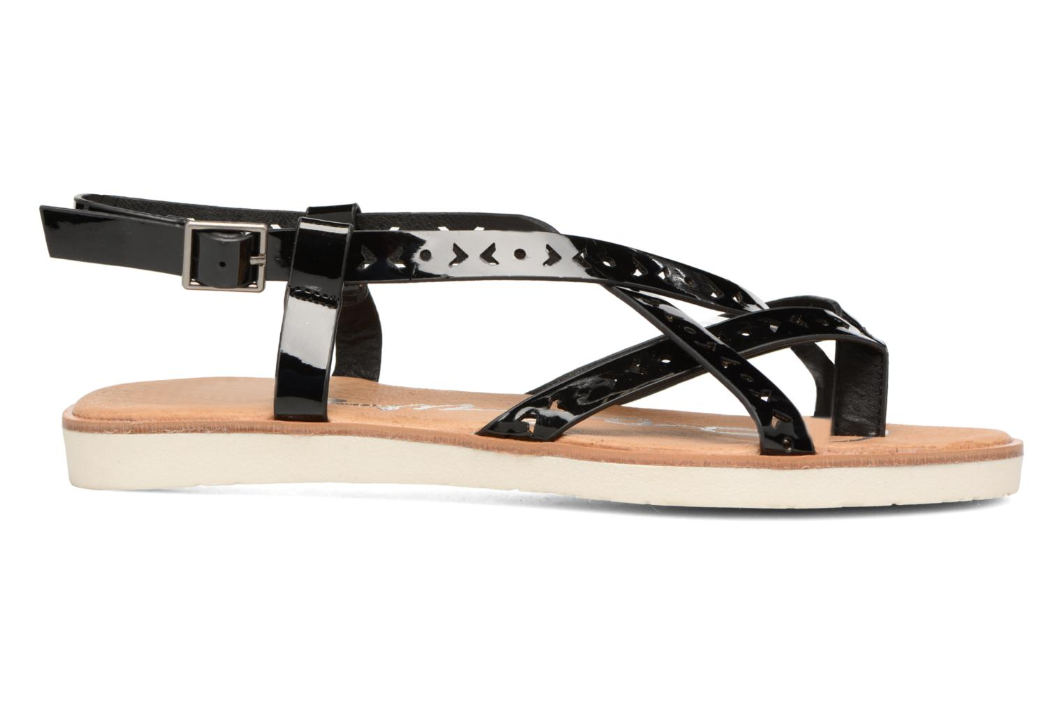 Sandals Coolway Poppy Black back view