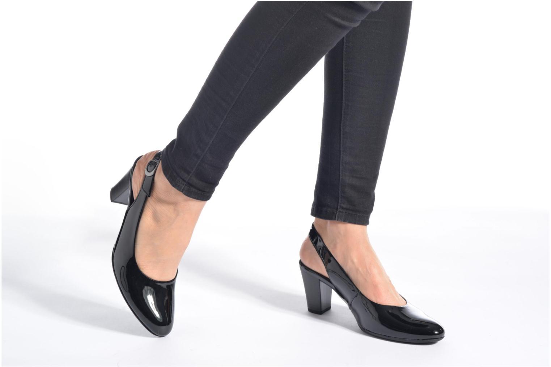 Zapatos de tacón Gabor Nizza 2 Negro vista de abajo