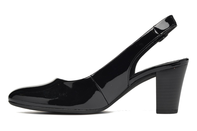 Zapatos de tacón Gabor Nizza 2 Negro vista de frente