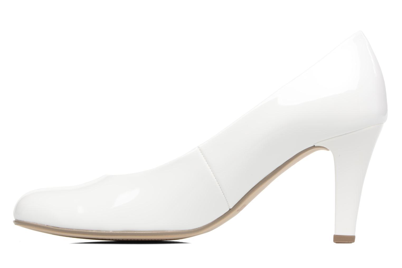 Zapatos de tacón Gabor Pesaro Blanco vista de frente