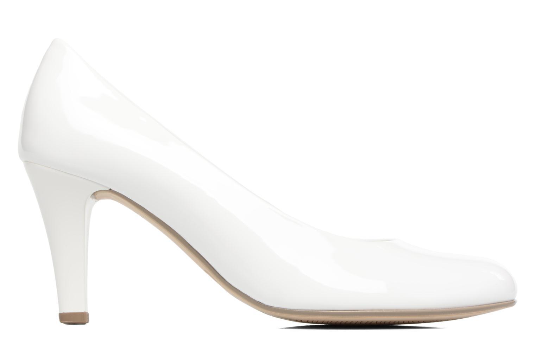 Zapatos de tacón Gabor Pesaro Blanco vistra trasera
