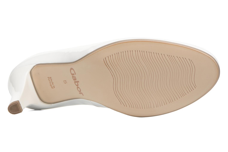 Zapatos de tacón Gabor Pesaro Blanco vista de arriba