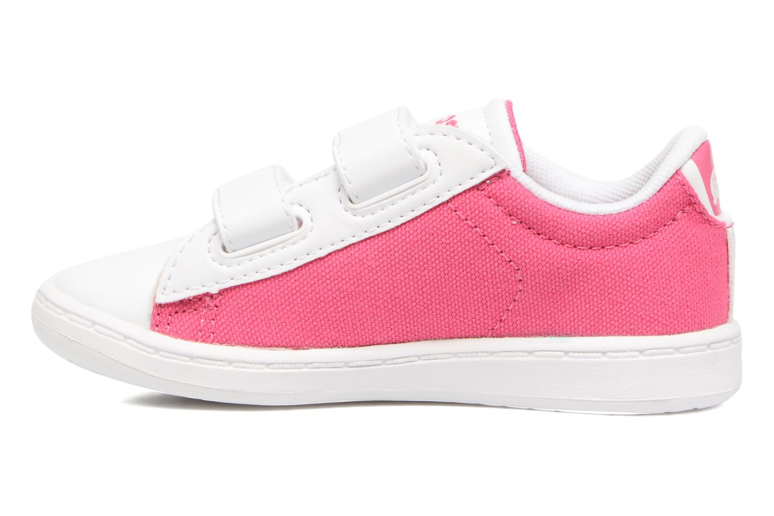 Baskets Lacoste Carnaby Evo 117 1 Kids Rose vue face
