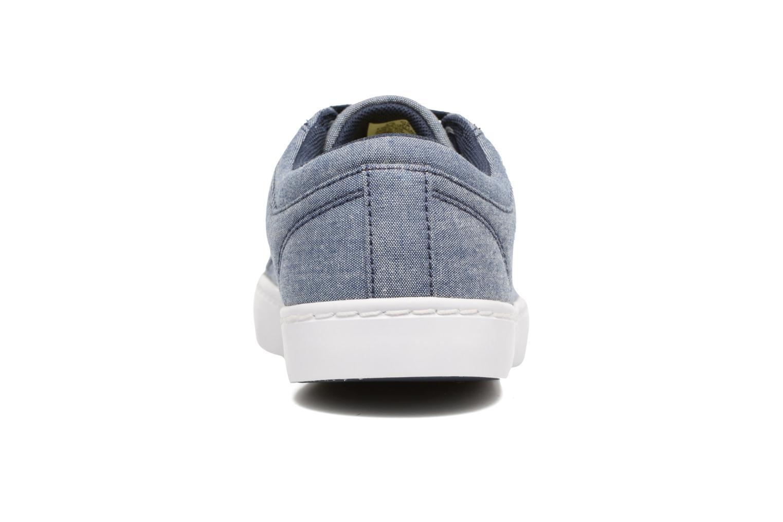 Baskets Lacoste Straightset Lace 117 3 Bleu vue droite