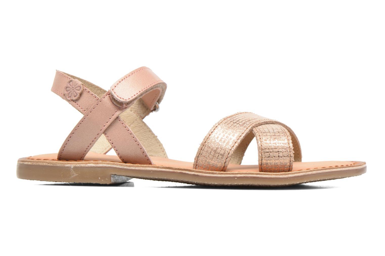 Sandales et nu-pieds Aster Canissa Rose vue derrière