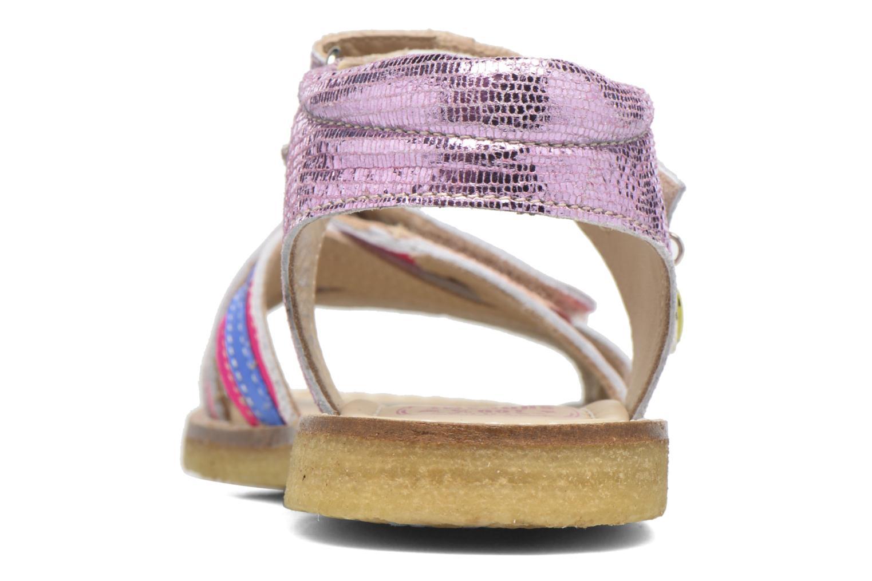 Sandales et nu-pieds Shoesme Saskia Rose vue droite