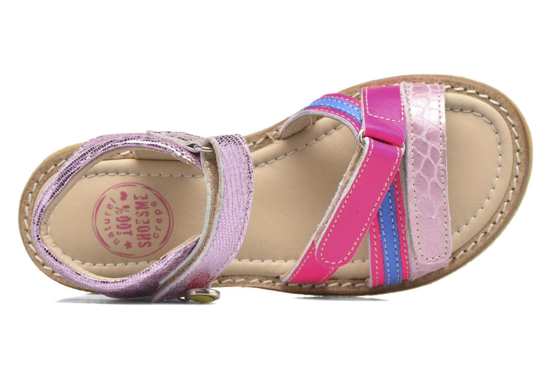 Sandales et nu-pieds Shoesme Saskia Rose vue gauche
