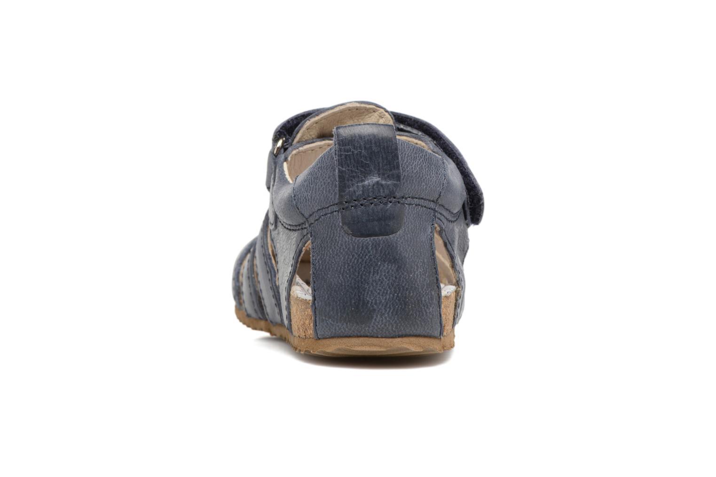 Sandales et nu-pieds Shoesme Stuart Bleu vue droite