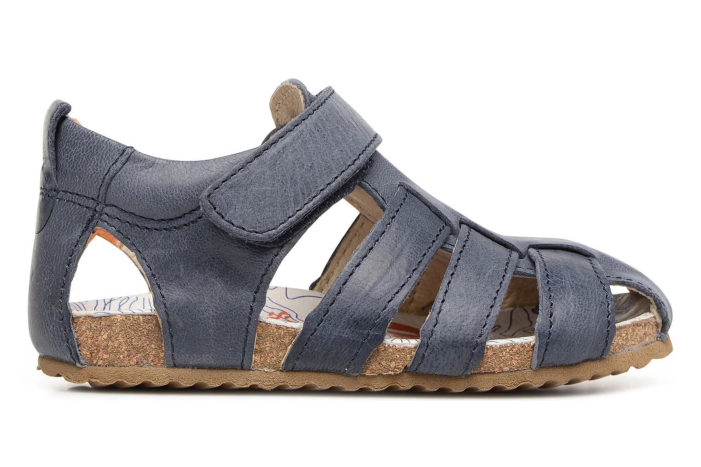 Sandales et nu-pieds Shoesme Stuart Bleu vue derrière