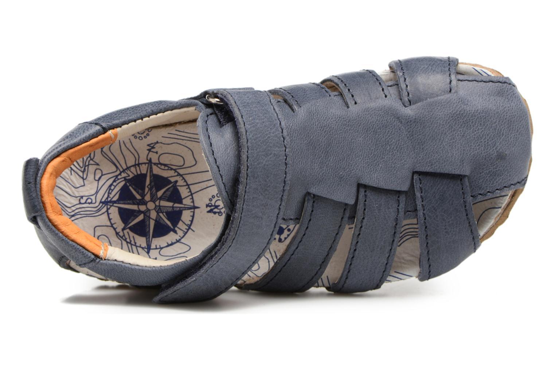 Sandales et nu-pieds Shoesme Stuart Bleu vue gauche