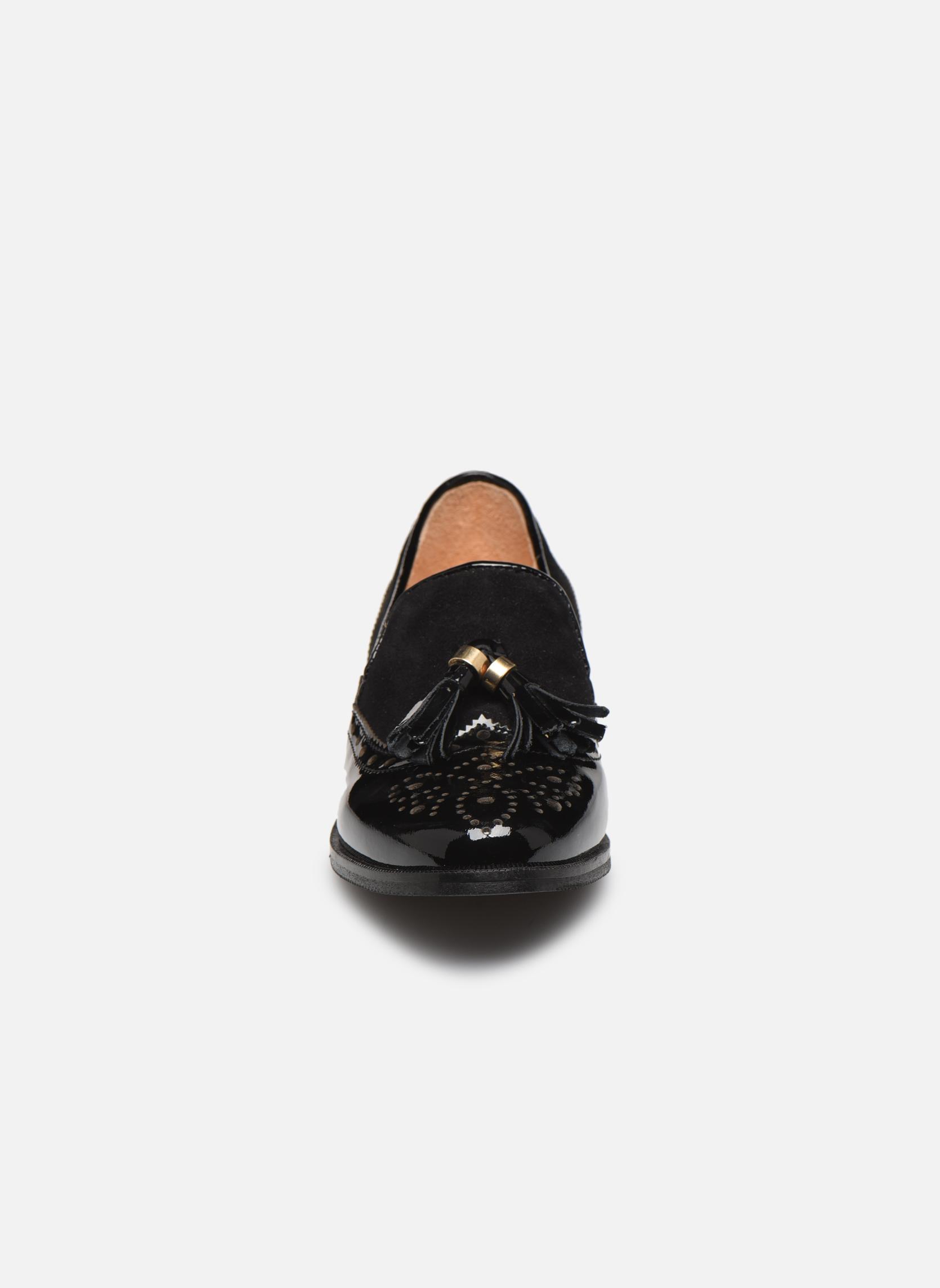 Mocassins Yep Margot Noir vue portées chaussures